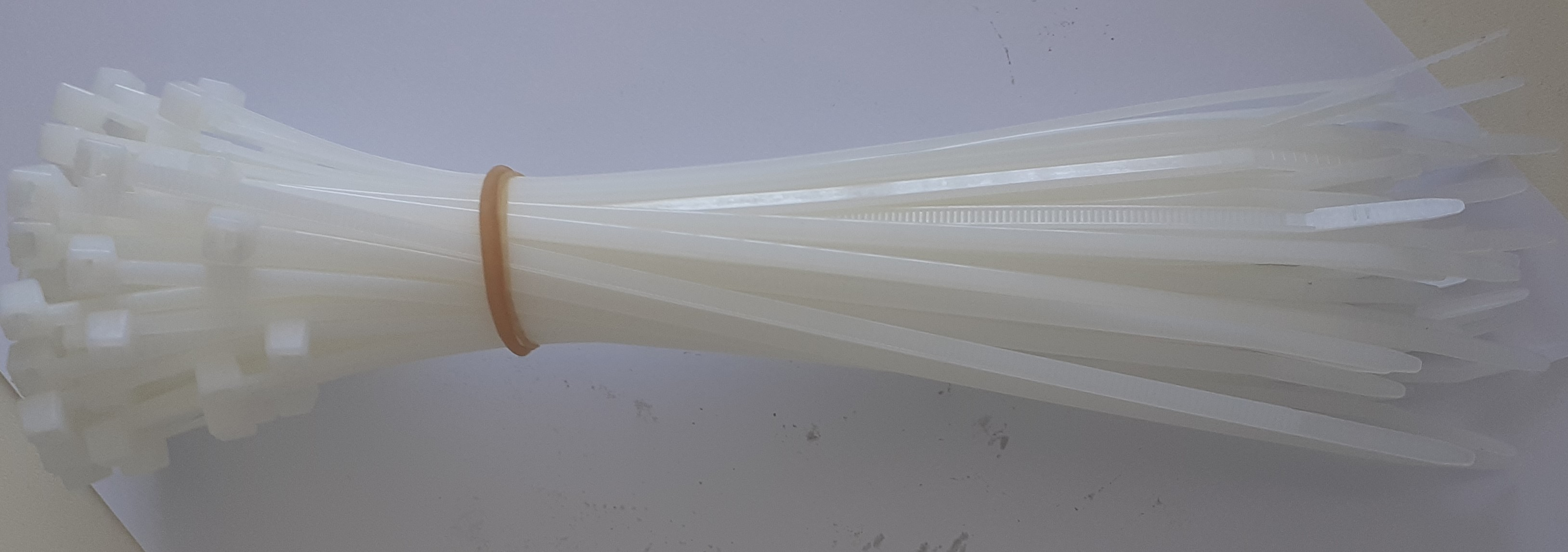 COLIER PLASTIC 1,3*3,5*300MM,50BUC,GRANIT